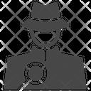 Spy Detective Hacker Icon