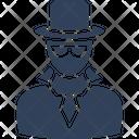 Detective Spy Secret Agent Icon
