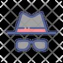 Hat Specs Glasses Icon