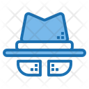 Spy Security Man Icon