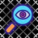 Magnifying Glass Eye Icon