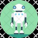 Spy Robot Spherical Icon