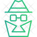 Spy Agent Hacker Icon