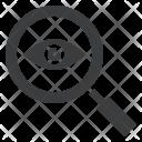 Spy Eye Magnifying Icon