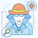 Detective Spy Detector Icon