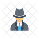 Spy Agent Professional Icon