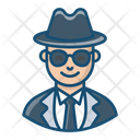 Detective Investigator Spy Icon