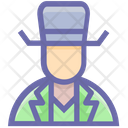 Human Spy Secretive Icon