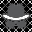 Spy Agent Security Icon