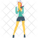Spy Girl Female Icon