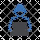 Spy Hacker Cyber Icon