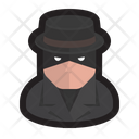 Spy Hacker Cyberspy Icon