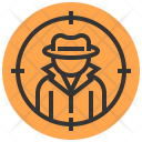 Spy Detective Occupation Icon