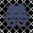 Spy Detective Security Icon