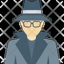 Incognito Spy Detective Icon