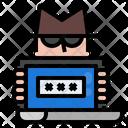 Internet Security Fraud Icon