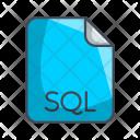 Sql Code File Icon