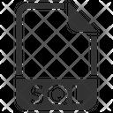 Sql Document File Icon