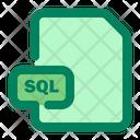 File Sql Format Icon