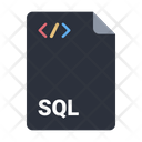 Document Sql File Icon