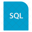 Structured Query Language Data Extension File Icon