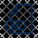 Sql File Format Icon