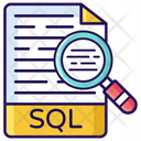 Sql Search Data Search Server Search Icon