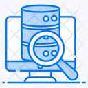 Sql Search Data Search Database Explore Icon