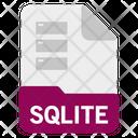 Sqlite file Icon