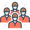 Squad Group Gang Icon