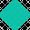 Square Smooth Decoretive Icon