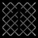 Square Arrow Points Icon