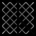 Square Rectangle Cutout Icon