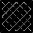 Square Stripes Fill Icon