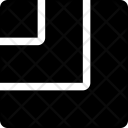 Square Stripes Size Icon