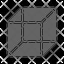 D Geometry Square Icon