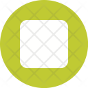 Square With Round Icon