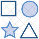 Data Analytics Square Circle Icon