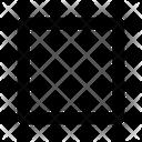 Box Design Geometry Icon