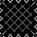 Vector Path Square Icon