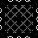 Square Form Figure Icon