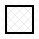 Square Rectangle Box Icon