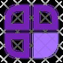 Square Button User Icon