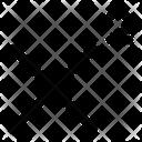 Square Quadratic Quadrate Icon