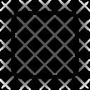 Square Shape Tool Icon