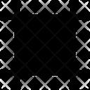 Square Art Board Creative Icon