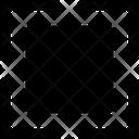 Square Corners Design Icon