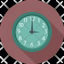 Square Clock Time Icon