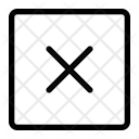 Square Remove Icon