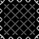Square Minus Icon